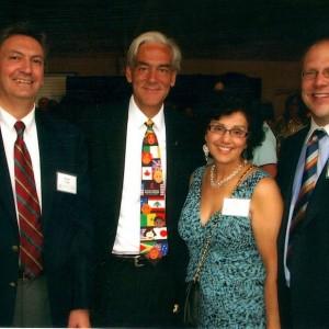 Dr. Shehadi with Richard C. Shadyac Jr.